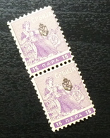 Serbia 1911 Newspaper Stamps Pair B4 - Serbia