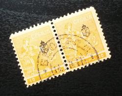 Serbia 1911 Newspaper Stamps Pair B5 - Serbia