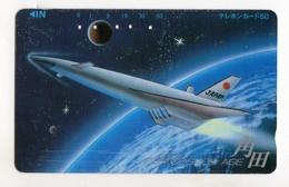 JAPON TELECARTE ESPACE NAVETTE SPATIALE - Espace