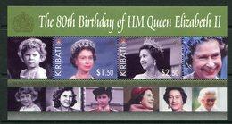 Kiribati 2006 80th Birthday Of Queen Elizabeth II MS MNH (SG MS754) - Kiribati (1979-...)