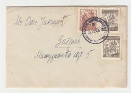 Yugoslavia Letter Cover Posted 1946 Sremska Mitrovica Pmk B200601 - 1945-1992 République Fédérative Populaire De Yougoslavie