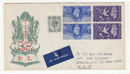 Victory Peace To The World 1946 FDC B200601 - FDC