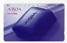 JAPON TELECARTE SAVON ARSOA COSMETIQUE - Parfum