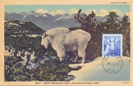 CANADA  QUEBEC MAXIMUM POST CARD QUEBEC ROCKY MOUNTAIN   1956  (MAGG200453) - Maximumkaarten