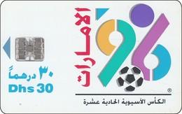 UAE Chip Phonecard 11th ASIAN Cup Football - United Arab Emirates