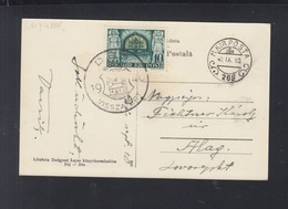 Rumänien Romania Ungarische Besetzung Hungary Occupation PPC Dej Des 1940 - 2. Weltkrieg (Briefe)