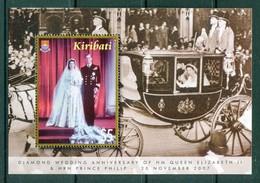 Kiribati 2007 Diamond Wedding Of Queen Elizabeth II & Prince Philip MS MNH (SG MS790) - Kiribati (1979-...)