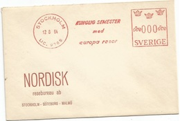 Sweden Specimen Essai Proof EMA Red Meter Ore000 Stockholm 12jun1964 On Nordisk Resebureau CV - Viñetas De Franqueo (ATM/Frama)