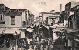 CPA - CRETE - LA CANEE - MARCHE Aux Fruits ... - Edition A.Théophanus Cie - Greece