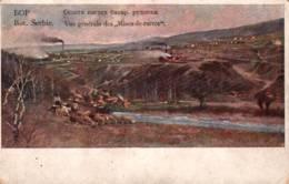 CPA - ZAYETCHAR - Vue GALE Des MINES De CUIVRE De BOR - ILLUSTRATION … - Serbie
