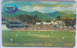 118 CTTA Cricket Lovely Cricket $20 No Slash - Trinité & Tobago
