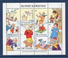 Guernesey - Bloc YT N° 23 - Rupert Et Friends - Neuf Sans Charnière - 1993 - Guernsey