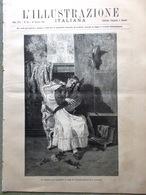 L'Illustrazione Italiana 26 Ottobre 1890 Karr Dormitori Roma Aden Congo Schiavi - Vor 1900