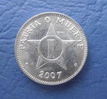 CUBA 1 CENTAVO 2007 AUNC - Kuba