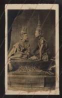 CAMBODGE - PRINCESSE ET PRINCE - PHOTOGRAPHIE 19EME PROVENANT D'UN ALBUM DE VOYAGE D'UN MARIN FRANCAIS - Old (before 1900)