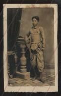 CAMBODGE - PRINCE - PHOTOGRAPHIE 19EME PROVENANT D'UN ALBUM DE VOYAGE D'UN MARIN FRANCAIS - Old (before 1900)
