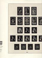 Portugal Lindner Ringbinder Mit Vordruckblätter 1945 - 1963 No. 219/34 +  220 Gebraucht Ohne Marken - Albums & Binders