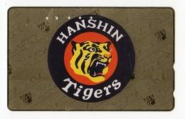 JAPON TELECARTE SPORT BASE BALL HANSHIN TIGERS - Sport