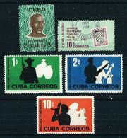 Cuba Nº 553/... Nuevo Cat.7,50€ - Cuba