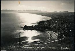 CASTELLAMMARE DEL GOLFO (TRAPANI) PANORAMA CONTROLUCE - Trapani