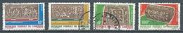 Cameroun YT N°451/454 Art Camerounais Oblitéré ° - Kameroen (1960-...)