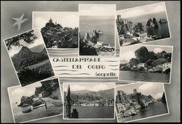 CASTELLAMMARE DEL GOLFO - SCOPELLO (TRAPANI) VEDUTINE - Trapani