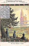 PIE-20-FD-700 : UNION AMICALE ALSACE ET LORRAINE. 49° ANNIVERSAIRE DECLARATION DE BORDEAUX PAR HANSI. - Hansi