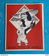 Livret 18 Recettes De Pepita Offert Par Le Rhum Pepita Bordeaux - Publicité