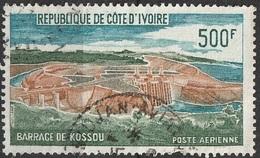 Côte D'Ivoire 1972  Achèvement Du Barrage De Kossou  (G15) - Côte D'Ivoire (1960-...)
