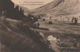 Suisse - FIESCH - Vallée De Conches - Viaduc Du Fieschbach Et Fiesch - VS Valais