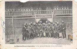 Japan  日本     La Guerre Russo Japonaise , Le Général Kuroki Et Son état Major Anno 1904 Japans Leger Militair     M 3016 - Otros