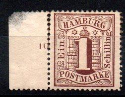 HAMBOURG - YT N° 14 - Neuf * - MH - Cote: 16,50 € - Hamburg (Amburgo)