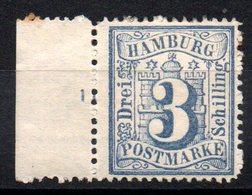 HAMBOURG - YT N° 17 - Neuf * - MH - Cote: 50,00 € - Hamburg (Amburgo)