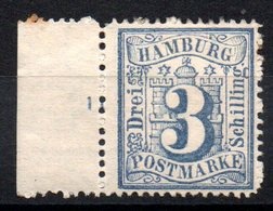 HAMBOURG - YT N° 17 - Neuf * - MH - Cote: 50,00 € - Hamburg