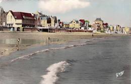 14 St AUBIN Sur MER La Plage à Marée Haute CPSM 1950 - Saint Aubin