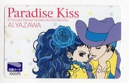 JAPON TELECARTE MANGA YAZAWA PARASISE KISS - Stripverhalen