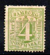 HAMBOURG - YT N° 18 - Neuf Sg - Cote: 10,00 € - Hamburg