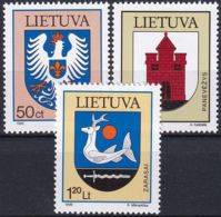 LITAUEN 1996 Mi-Nr. 621/23 ** MNH - Lituanie
