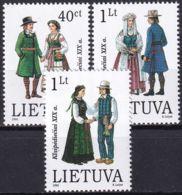 LITAUEN 1996 Mi-Nr. 610/12 ** MNH - Lituanie