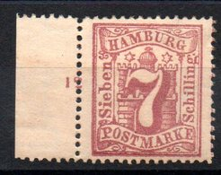 HAMBOURG - YT N° 20 - Neuf * - MH - Cote: 16,50 € - Hamburg (Amburgo)