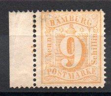 HAMBOURG - YT N° 21 - Neuf * - MH - Cote: 40,00 € - Hamburg (Amburgo)