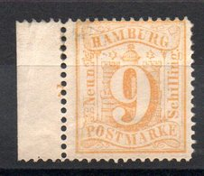 HAMBOURG - YT N° 21 - Neuf * - MH - Cote: 40,00 € - Hamburg