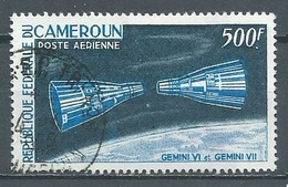 Cameroun Poste Aérienne YT N°73 Gemini VI Et Gemini VII Oblitéré ° - Kameroen (1960-...)