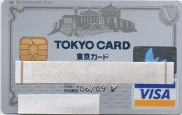 Carte VISA : Tokyo Card : Exp. 06/09 - Cartes De Crédit (expiration Min. 10 Ans)