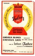Buvard Lotion Capilaire Fabre Cheveux Blanc Gris Pharmacien Paris Teinte Teinture - Parfum & Cosmetica