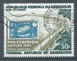 Cameroun Poste Aérienne YT N°129 Exposition Philatélique Philexafrique Abidjan 1969 Oblitéré ° - Kameroen (1960-...)