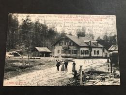 Cpa 1900/1920 Côte De Sainte Marie Frontière Hôtel De Faite Carte Taxée - Autres Communes