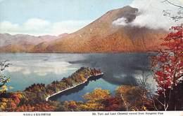 Japan  日本     Mt. Taro And Lake Chuzenji Viewed From Hangetsu Pass      M 3026 - Otros