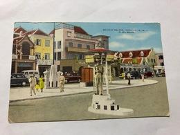 CURACAO - BRION'S SQUARE - PLAZA BRION - 1920   - POSTCARD - Postcards