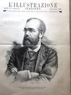 L'Illustrazione Italiana 23 Novembre 1890 Koch Tubercolosi Crispi Costantinopoli - Vor 1900
